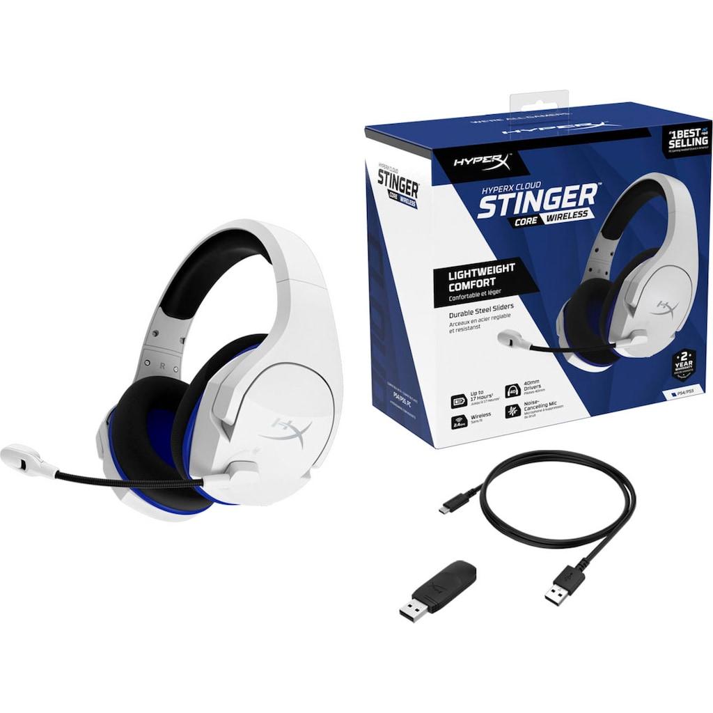 HyperX Gaming-Headset »Cloud Stinger Core Wireless«, Bluetooth, Rauschunterdrückung