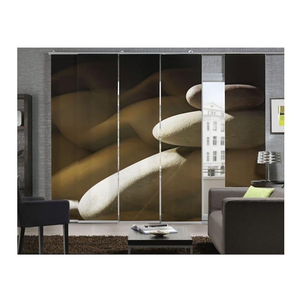 emotion textiles Schiebegardine »Steinmauer«, HxB: 260x60, mit Befestigungszubehör