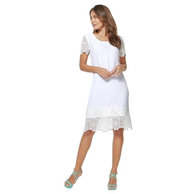 Creation L Kleid in hochwertiger Leinen-Lyocell-Qualität