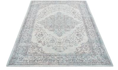 GALLERY M Teppich »Bordüre«, rechteckig, 5 mm Höhe, Flachgewebe, Chenille, Wohnzimmer kaufen