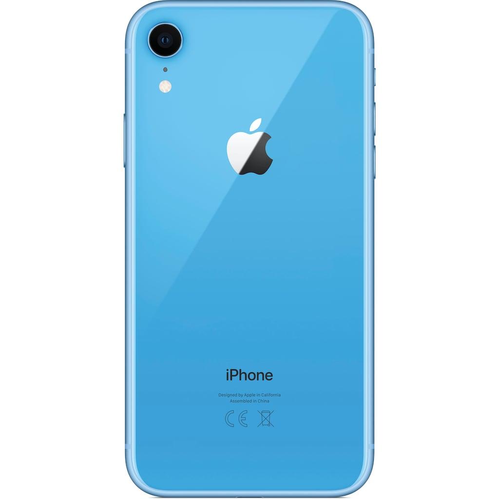 """Apple Smartphone »iPhone XR 64GB«, (15,49 cm/6,1 """" 64 GB Speicherplatz, 12 MP Kamera), ohne Strom-Adapter und Kopfhörer"""