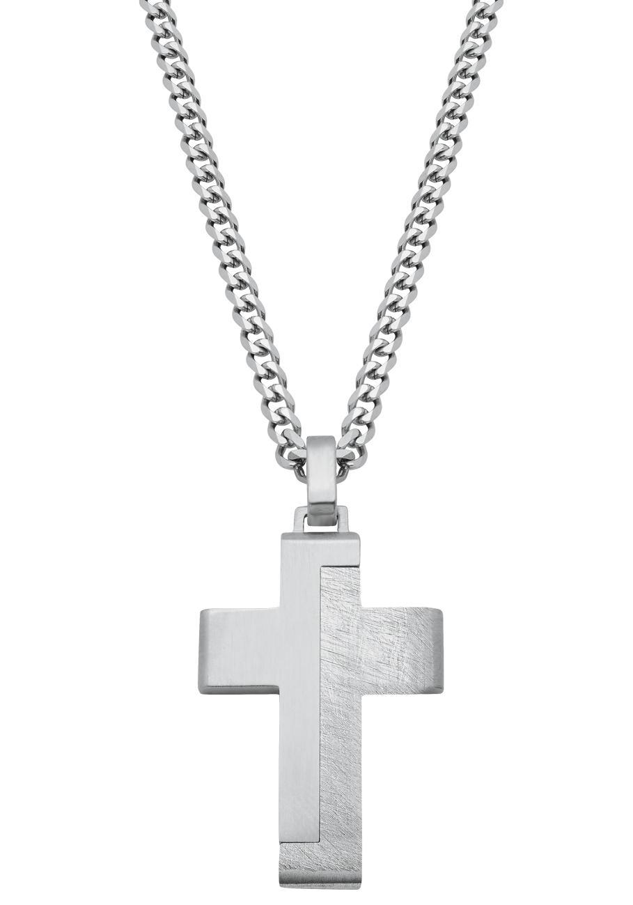 sOliver Kette mit Anhänger Kreuz 2024253 | Schmuck > Halsketten > Ketten mit Anhänger | S.Oliver
