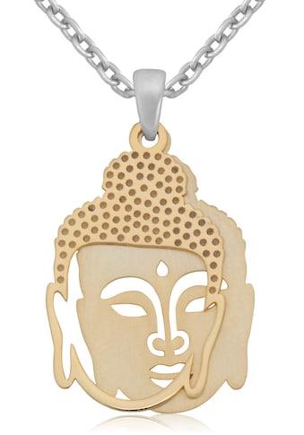 Firetti Kette mit Anhänger »Budda, teilweise vergoldet, glänzend/mattiert« kaufen