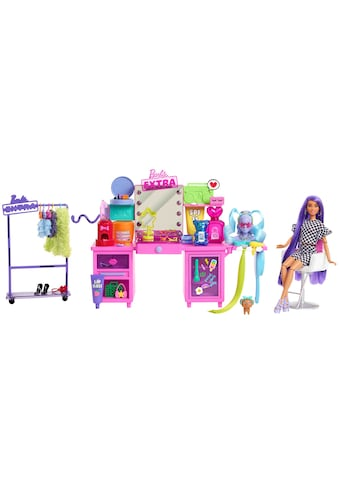Barbie Spielwelt »EXTRA Spielset«, Stylingtisch mit Zubehör und Barbie Puppe kaufen