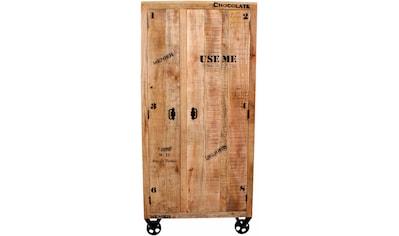 SIT Garderobenschrank, im Factory design, Breite 90 cm, Shabby Chic, Vintage kaufen