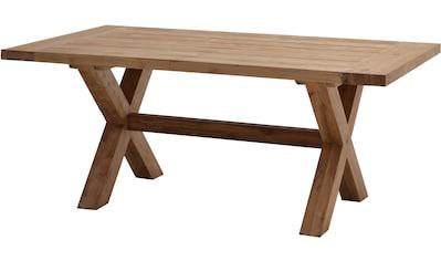 PLOSS Gartentisch »Lincoln«, Teakholz, 220x100 cm kaufen