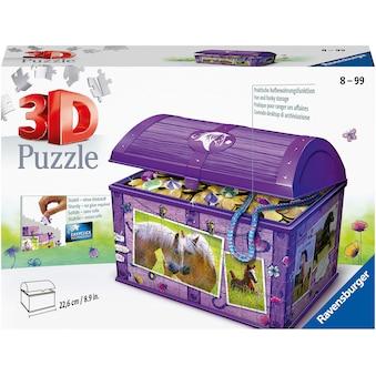 "Ravensburger 3D - Puzzle ""Schatztruhe Pferde"" kaufen"