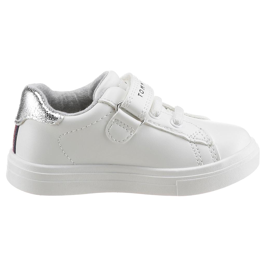 Tommy Hilfiger Sneaker »Juice«, mit glitzerndem Logo seitlich