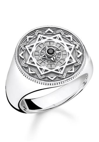 "THOMAS SABO Diamantring »Ring ""Vintage Kompass silber"", D_TR0041-714-11-48, 50, 52,... kaufen"