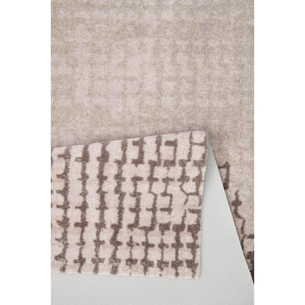 ELLE Decor Läufer »Contrast«, rechteckig, 7 mm Höhe, waschbarer Teppichläufer, rutschhemmend