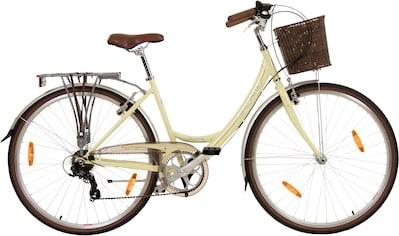 Galano Cityrad »Piccadilly«, 7 Gang Shimano Tourney TX Schaltwerk, Kettenschaltung kaufen