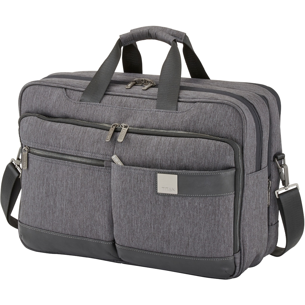 TITAN® Businesstasche »PowerPack M«, mit Laptopfach