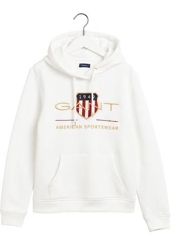 Gant Sweatshirt, mit schöner Logo-Stickerei vorne kaufen