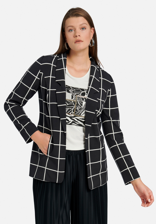emilia lay -  Jackenblazer im Oversized-Style, im Karo-Dessin