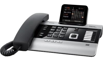 Gigaset Kabelgebundenes Telefon »DX600A«, ( LAN (Ethernet)-Bluetooth), Erweiterbar zur Telefonanlage mit 6 Mobilteilen kaufen