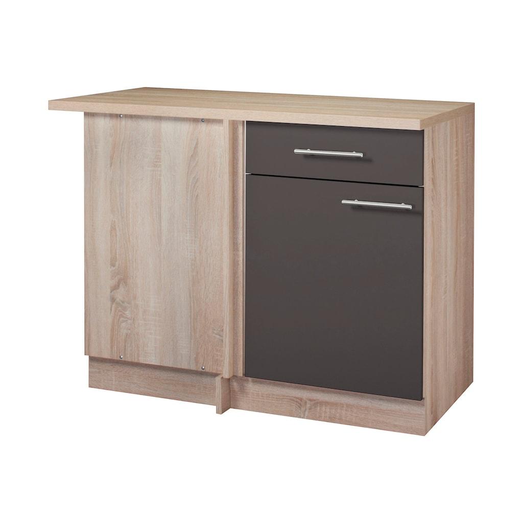 wiho Küchen Eckunterschrank »Montana«, 110 cm breit