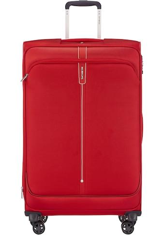 Samsonite Weichgepäck-Trolley »Popsoda, 78 cm, red«, 4 Rollen kaufen