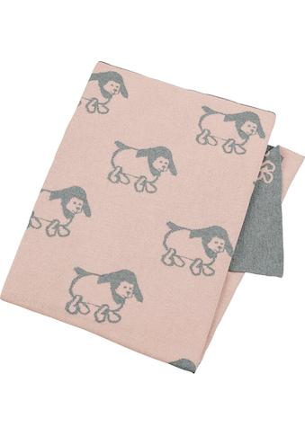 Babydecke »GOTS Strick - Schmusedecke«, Sterntaler® kaufen