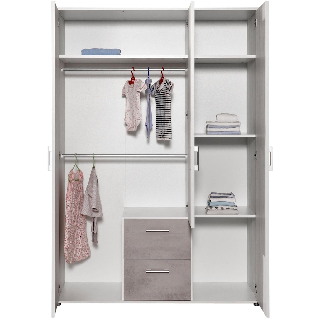 arthur berndt Babyzimmer-Komplettset »Fredi«, (Set, 4 St.), Made in Germany