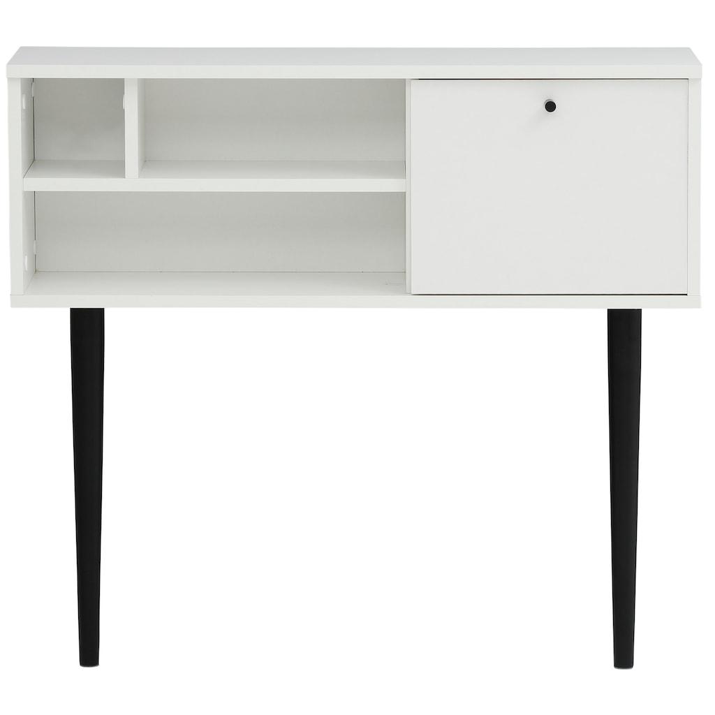 my home Kommode »Dotti«, mit einer rechteckigen Tischplatte, Konsolentisch Breite 85 cm