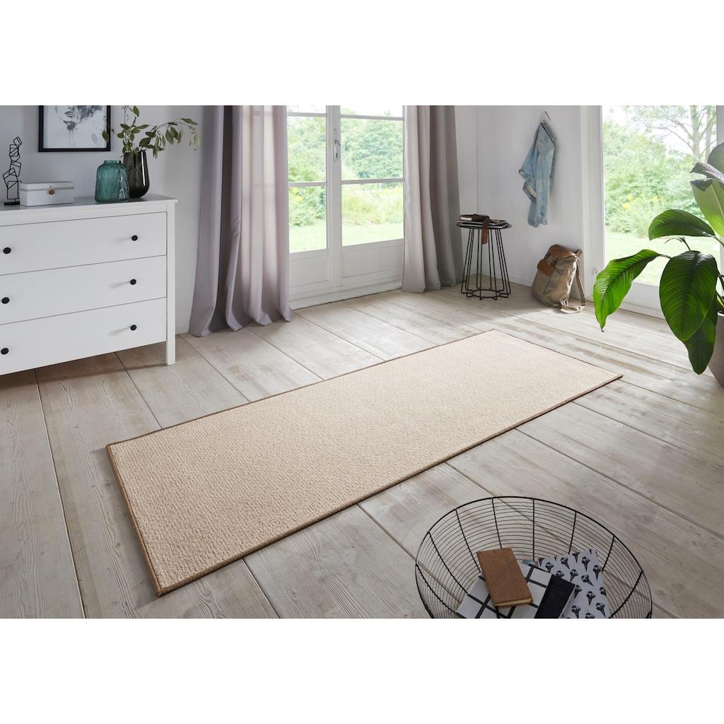 BT Carpet Läufer »Bouclé«, rechteckig, 5 mm Höhe