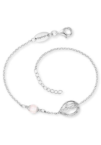 Engelsrufer Armband »Himmelsträne mit Lebensblume, ERB-TEARLIFL-RQ-ZI«, mit Rosenquarz... kaufen