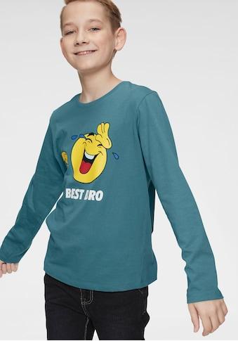 Arizona Langarmshirt »BEST BRO« kaufen