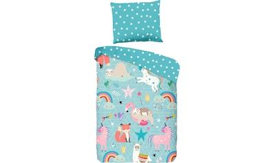Kinderbettwäsche »Moody«, good morning kaufen