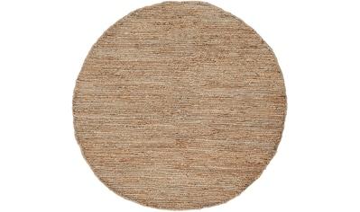 carpetfine Teppich »Nala«, rund, 9 mm Höhe, Wendeteppich, Wohnzimmer kaufen