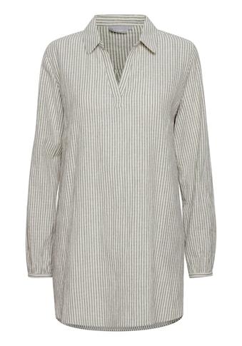 fransa Langarmbluse »Fransa Longshirt mit 3/4 Arm«, Tunika 20609302 kaufen