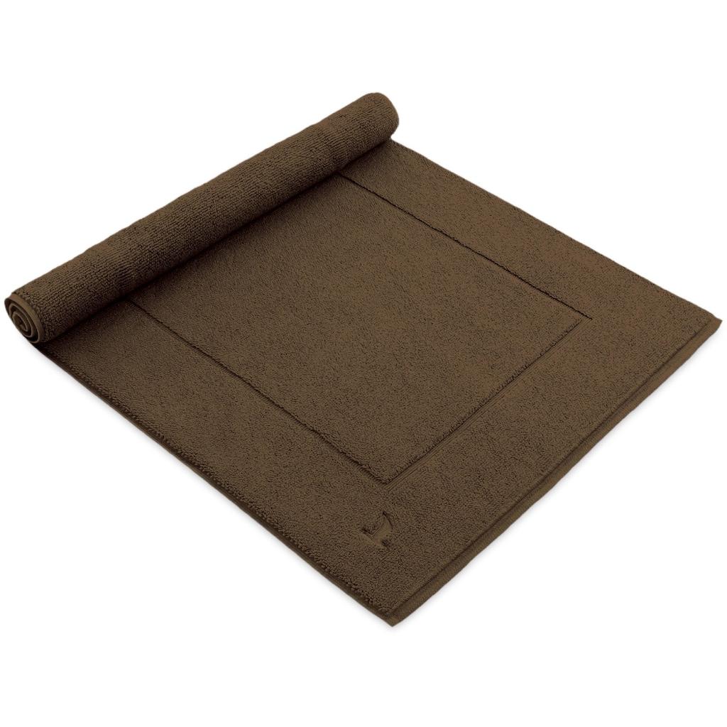 Möve Badematte »Essentail/Superwuschel«, Höhe 8 mm, fußbodenheizungsgeeignet-beidseitig nutzbar