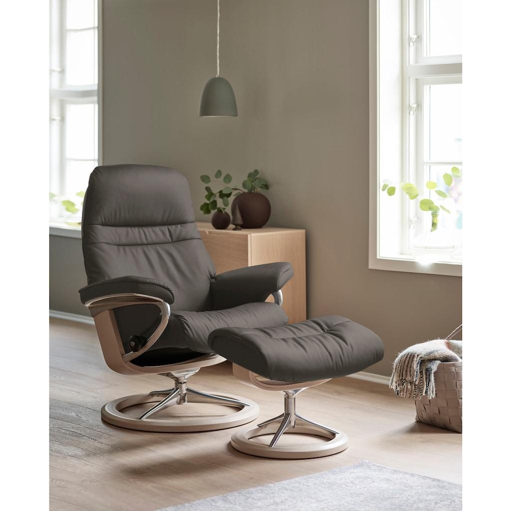 Stressless® Relaxsessel »Sunrise«, mit Signature Base, Größe L, Gestell Whitewash