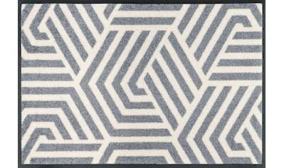 wash+dry by Kleen-Tex Fußmatte »Odin«, rechteckig, 7 mm Höhe, Schmutzfangmatte, In-... kaufen