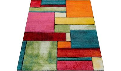 Teppich, »Brilliance 661«, Paco Home, rechteckig, Höhe 18 mm, maschinell gewebt kaufen