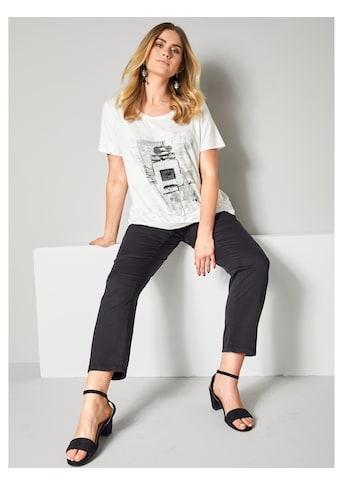Sara Lindholm by Happy Size Shirt mit Pailletten kaufen