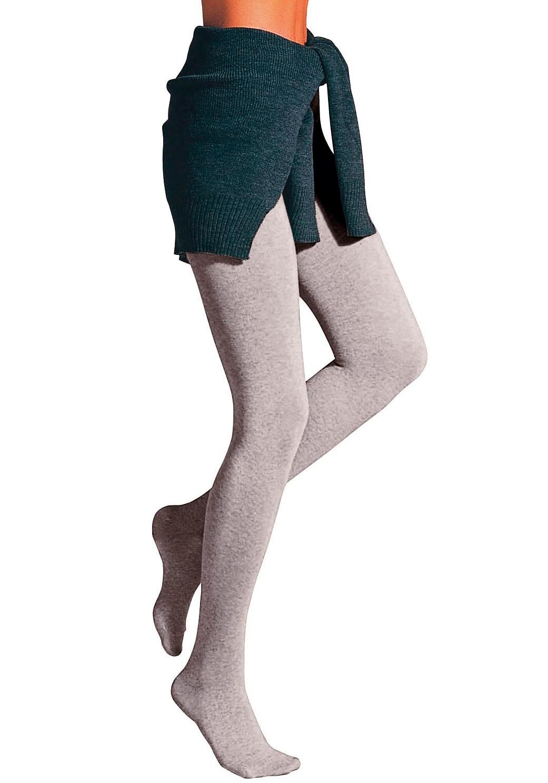 Rogo Strickstrumpfhose Thermosan, formbeständig grau Damen Strickstrumpfhosen Strumpfhosen Damenwäsche