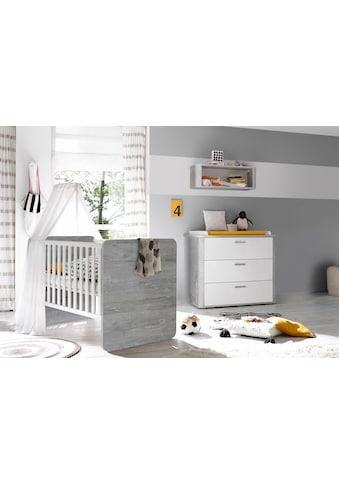 Babymöbel-Set »Aarhus«, (Spar-Set, 2 St.), Bett + Wickelkommode kaufen