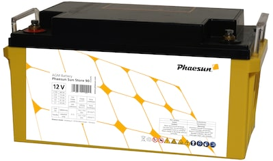 Phaesun Solarakkus »AGM Sun Store 90«, 12 V kaufen