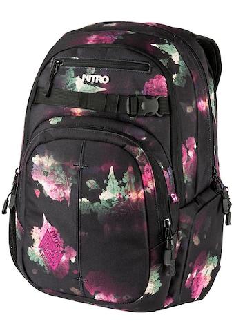 NITRO Schulrucksack »Chase, Black Rose« kaufen