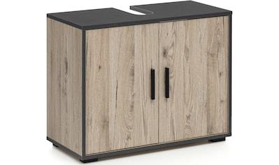 Wilmes Waschbeckenunterschrank »ADRIA«, Waschbecken Unterschrank 65 cm breit mit 2 Türen kaufen