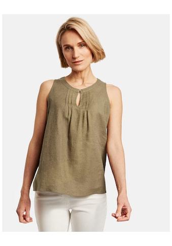 GERRY WEBER Bluse ohne Arm »Blusentop aus Leinen« kaufen