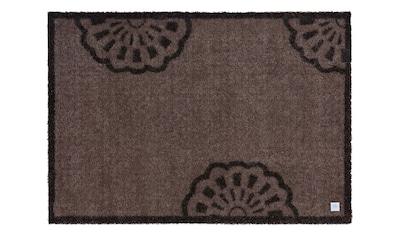 Barbara Becker Fußmatte »Lace«, rechteckig, 10 mm Höhe, Schmutzfangmatte, In- und... kaufen