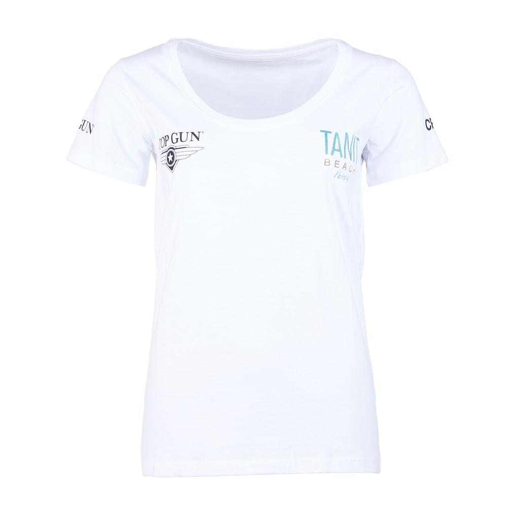 TOP GUN T-Shirt »NB20123«, sportlicher Schnitt
