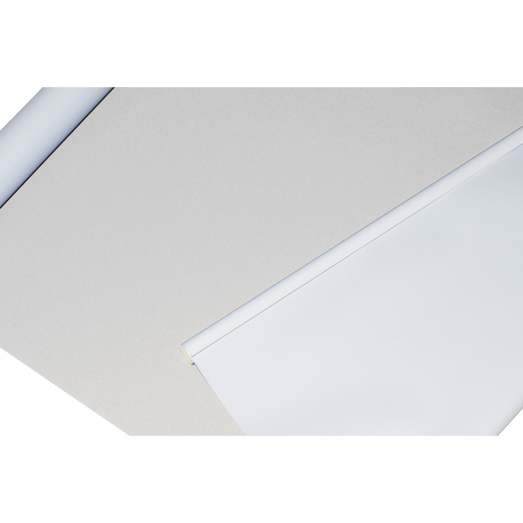 sunlines Seitenzugrollo »Classic Style Akku-Rollo«, verdunkelnd, freihängend, Made in Germany