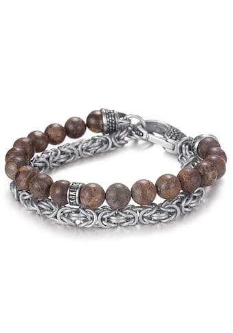 Kingka Armband »SB2207SBN«, mit Bronzit kaufen