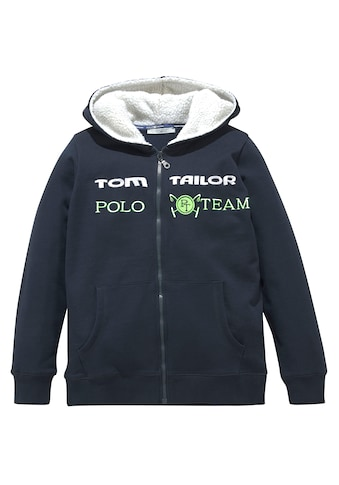 TOM TAILOR Polo Team Kapuzensweatjacke kaufen