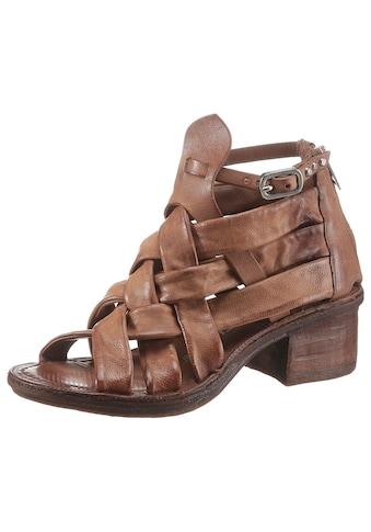 A.S.98 Sandalette »KENYA«, mit sommerlicher Flechtung kaufen