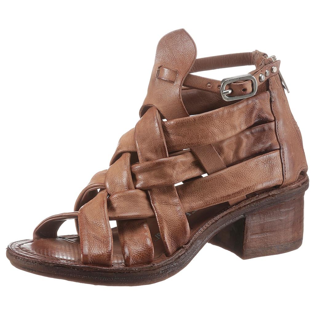 A.S.98 Sandalette »KENYA«, mit sommerlicher Flechtung