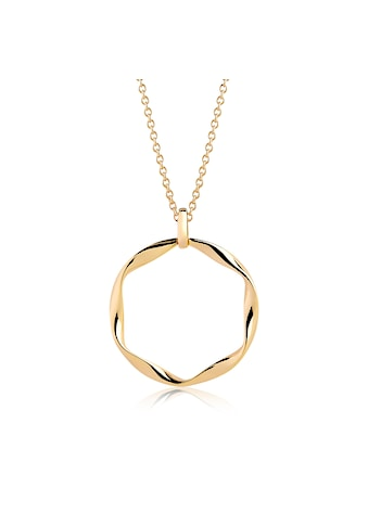 Sif Jakobs Jewellery Halskette 925 Silber, 18K vergoldet, 45cm Kettenlänge »CETARA PIANURA GRANDE« kaufen
