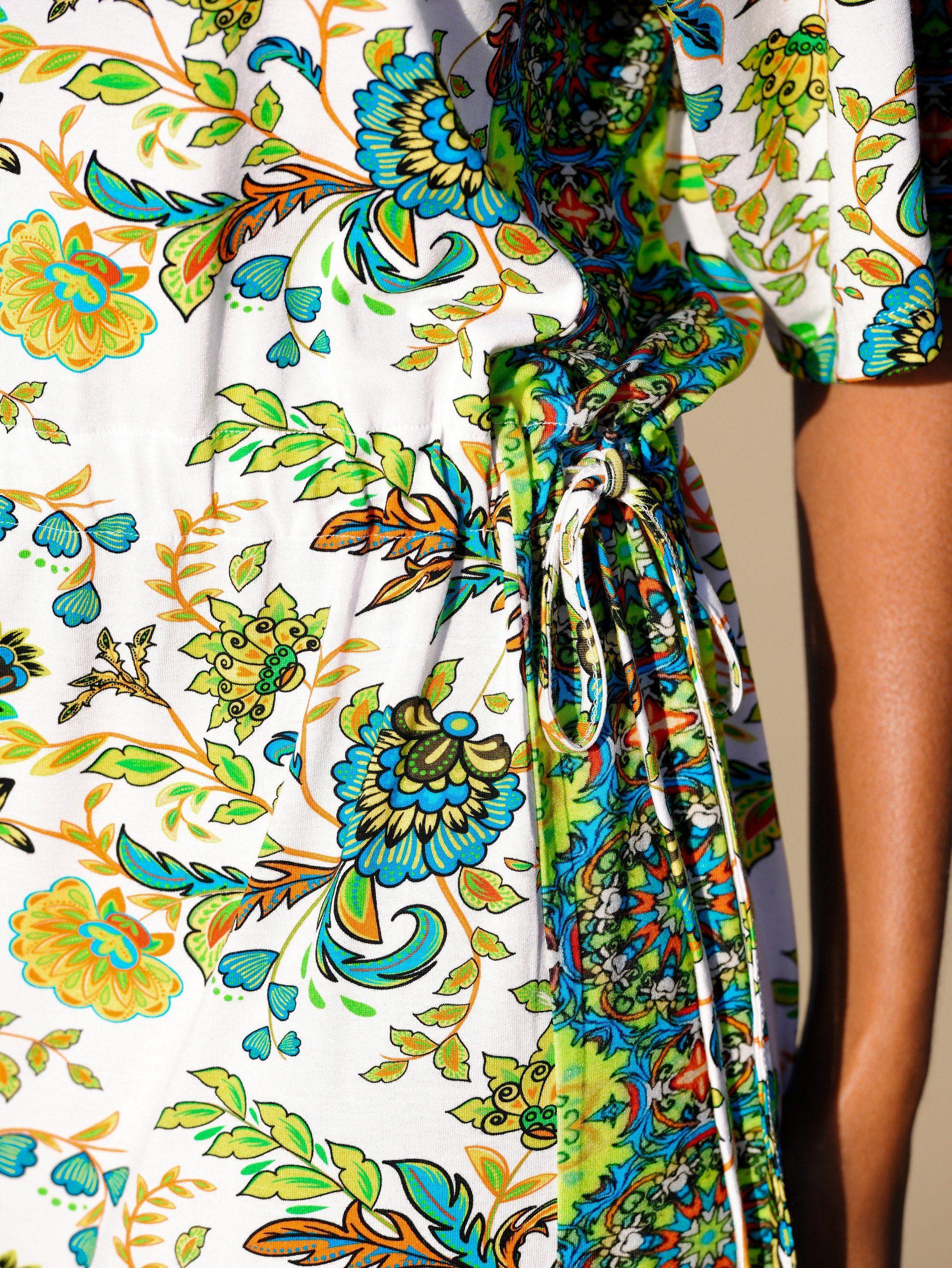 Alba Moda Strandkleid mit Bordürendruck | Bekleidung > Kleider > Strandkleider | Alba Moda